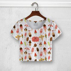 #crop #top #tees #tshirt #watermelon #rocket #pattern #forever21 #blouse #apparel #insitemyhead #women #fashion #fruits #ice #cream #food #holiday #ootw #ootd #bustier #DIY #cute #lace #summer #tight #ebay #amazon #etsy #shein #promo #discount #guess #outfits