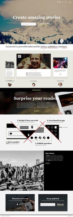 Creatavist.com/***CREATE/PUBLISH--IN MULTIMEDIA FORMAT: TEXT, IMAGES, MAPS VIDEOS=STORIES, EBOOKS, MAGAZINES, VIDEOS***