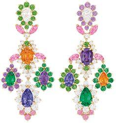 Dear Dior earrings. Via The Jewellery Editor.