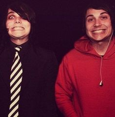 possibly the cutest thing in the world. this picture ❤❤❤❤❤❤❤❤❤❤ #frerard
