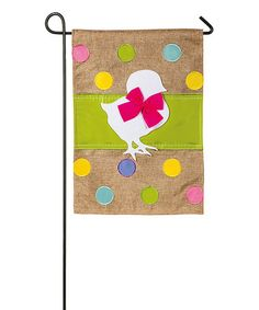 Another great find on #zulily! Easter Chick Flag #zulilyfinds