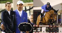 Jetss   O casal Doda Miranda e Athina Onassis ganha prêmios no GP do Festival Equestre de Inverno, nos Estados Unidos