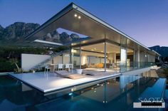 Breathtaking minimalist home with views