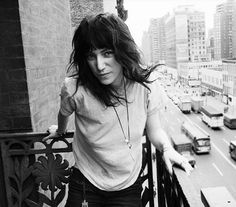 Patti Smith at New York's Chelsea Hotel, 1971, by David Gahr