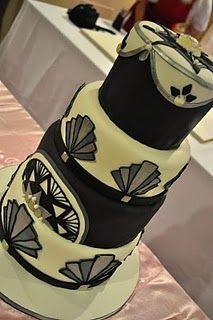 ArtDeco cake