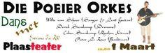 """Langarrm Dans (n' Stellenbosch Opskop) met Orkes """"Poeier"""""""