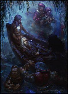 The Witcher 3 Wild Hunt Geralt and Yennefer by Scratcherpen on DeviantArt The Witcher Wild Hunt, The Witcher Game, The Witcher Geralt, The Witcher Books, Witcher Art, Ciri, Witcher Wallpaper, Yennefer Of Vengerberg, White Wolf