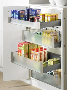 New Pantry Pullout Hardware