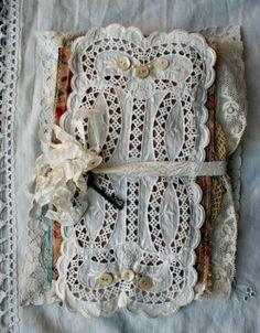 beautiful fabric book