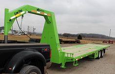 Custom Flatbed Trailer Gallery - featuring the Red Rhino and Flatbed Gooseneck Trailers by GoBob Pipe & Steel Sales, LLC - Flatbed Trailers and Goosneck Trailers Work Trailer, Trailer Plans, Trailer Build, Utility Trailer, Toy Hauler Trailers, Equipment Trailers, Custom Trailers, Trailers For Sale, Gooseneck Flatbed Trailer