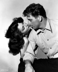 Ava Gardner and Burt Lancaster, publicity shot for The Killers (Robert Siodmak, 1946)