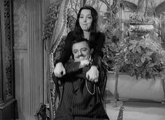 All Original Gifs from the Higher Depths of the Human Psyche and Other Such Shenanigans The Addams Family Cast, Addams Family Characters, Adams Family, Los Addams, Morticia And Gomez Addams, Carolyn Jones, Family Research, The Munsters, Movie Facts