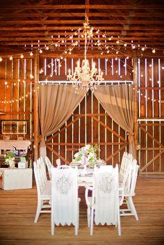 Read More: http://www.stylemepretty.com/northwest-weddings/2014/04/04/romantic-ranch-inspiration-shoot/