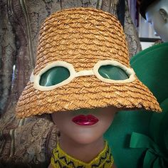 23 beste afbeeldingen van Vintage sun hats - Sombreros de playa faf66225c03