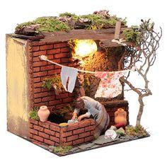 Diorama, Firewood, Ideas Para, Nativity, Miniatures, Texture, Bird, Outdoor Decor, Bethlehem