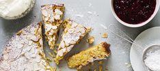 Ricotta-mantelikakku | Makeat leivonnaiset | Reseptit – K-Ruoka Bakewell Tart, Ricotta, Gluten Free Baking, No Bake Desserts, No Bake Cake, French Toast, Deserts, Pie, Cookies