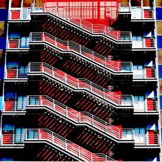 Madrid Agustín de Foxá Escalera 1 0062 by javier1949, via Flickr  http://arktetonix.com.br/2012/07/ark-texture-002/#