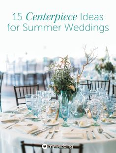 If you're planning a summer wedding, your wedding centerpieces and wedding flowers will speak volumes to the season. For further inspiration, pin these summer wedding centerpieces to decorate your wedding table in a bright and stylish salute to the warm weather and sunshine.