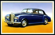 "Rolls-Royce Cars  ""Bentley Cars Second Edition"" (series of 25 large cards issued in 1987)"