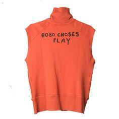 Waterpolo Sleeveless Zip Sweatshirt by Bobo Choses - Junior Edition  - 1