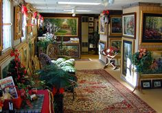 Our Gallery at Christmas