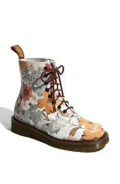 my inner teenager still wants flowered docs... Or maybe I need to ask my Dad to paint flowers on the Docs I got as a teenager (because, yes, I still have them)
