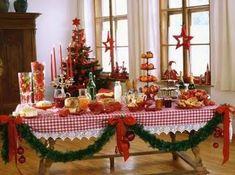 Decorações de Mesas para o Natal 8