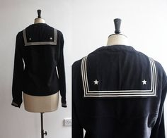 Vintage 1900s US Navy Uniform Nautical Sailor by WaysideFlower, £65.00