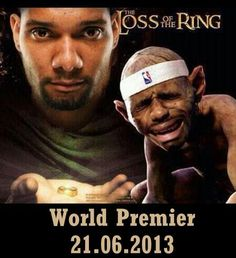 The loss of the ring. Hilarious!