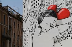 An Interview With Italian Street Artist Millo: My Characters Are The Purest Part…