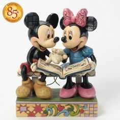 Sharing Memories-Mickey And Minnie 85th Anniversary Figurine