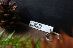 Hey, I found this really awesome Etsy listing at https://www.etsy.com/listing/217880944/i-love-you-sometimes-personalized-hand