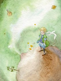 çizgili masallar: The Little Prince by So-Eun Kim