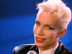 Eurythmics - Thorn In My Side  Excellent Quality - originally pinned by Louise Szczepanik