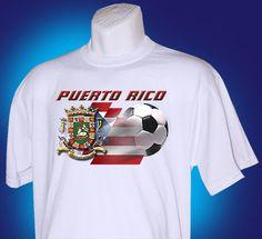 Puerto Rico soccer shirt