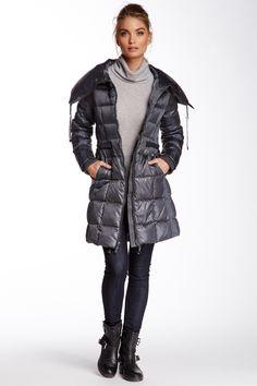 BCBG Quilted Puffer Coat