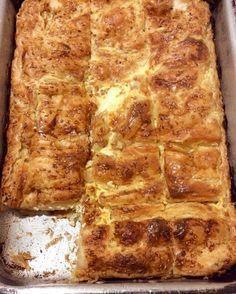 Ελληνικές συνταγές για νόστιμο, υγιεινό και οικονομικό φαγητό. Δοκιμάστε τες όλες Greek Appetizers, Greek Desserts, Cookbook Recipes, Dessert Recipes, Cooking Recipes, Turkish Recipes, Greek Recipes, Greek Cheese Pie, Greek Cake