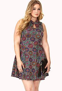 Snag plus size skater dresses, bodycons, maxis and more | Forever 21