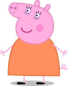 Peppa Pig Television Show Characters: Mummy Pig