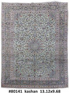 10x13 Kashan #Floral Motif Handmade Persian Organic Wool Rug. #handwork Kashan Genuine Handmade 10' x 13' Area Rug, exact dimensions of this carpet are 9' 8'' x 13' 2'' (400x295 cm). This Original home decor floor covering was made by the hands of artistic skilful weavers inspired by ancient designs. This is an original Persian Kashan rug in excellent condition, full pile, clean, no problem at all.Kashan is a historic center for textile production including carpets.