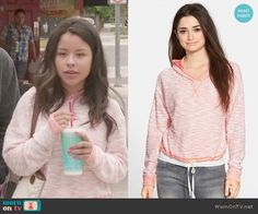 Mariana's hoodie on The Fosters.  Outfit Details: http://wornontv.net/50117/ #TheFosters