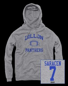 Matt Saracen hoodie inspired by the show Friday Night Lights. - High quality screen print - FREE SHIPPING on all orders over $50 - All items ship together - Items ship within 24-48 hours - Printed and