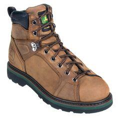John Deere Men's Goodyear Welted Work Boots JD6124