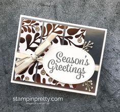 ORDER STAMPIN' UP! Create a simple holiday card using Year of Cheer. 1000+ card ideas. Daily tips. Clearance to 60%. Exclusive offers!