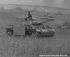 Panzer III and Tiger I