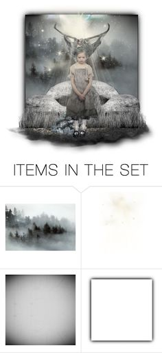 """""""Drawing Down the Moon"""" by annette-heathen ❤ liked on Polyvore featuring art, dolls and wicca"""