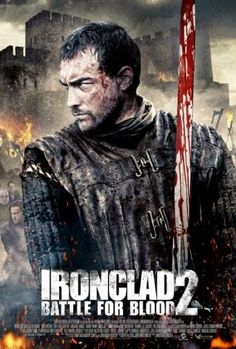 Get Ironclad: Battle for Blood DVD and Blu-ray release date, trailer, movie poster and movie stats. A young veteran and survivor of a gruesome battle is joined by a handful of mercenaries in protecting his family's estate from battle-hungry celtic. Hollywood Movies Online, Hd Movies Online, Tv Series Online, Movies 2014, All Movies, Movies To Watch, Movies Free, Streaming Hd, Streaming Movies