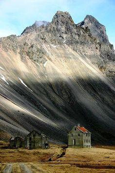 Horn, an abandoned farmhouse in Iceland | Svava Sparey Yoga Holidays #iceland #travel