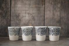 Espresso cups for 4   Tasses espresso pour by ArtetManufacture, $72.00