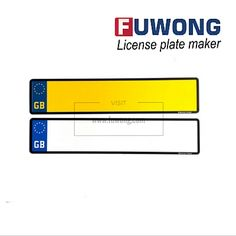 UK number plates & machine solution (United Kingdom/GB) - Fuwong   License plate maker, number plate machine